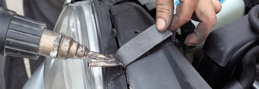 Repairing Plastic welding