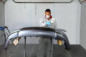 Spray Painting Bumper