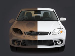 Rusty car vs not rusty car in Brisbane